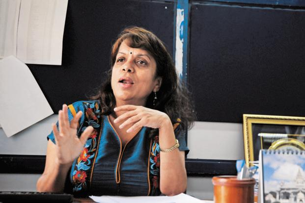 Medha Dhurandhar, associate director and head of the department at C-DAC, says the mobile-based app helps state health agencies track the performance of the ASHA staff. Photo: Akhilesh/Mint (Akhilesh/Mint)