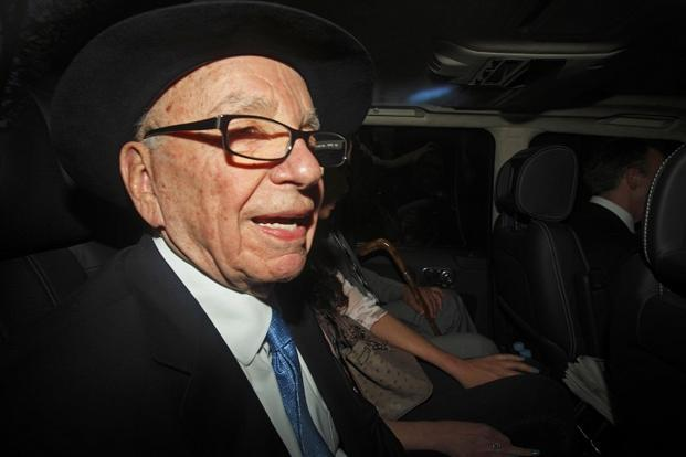 """Rupert Murdoch said if the """"price is right"""", News Corp. could be interested in newspapers. Photo: AFP  (AFP )"""