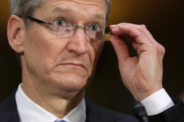 Apple hasn't released a new product since October, turning up the pressure on CEO Tim Cook to debut something fresh to reignite sales growth. Photo: AFP  (AFP )