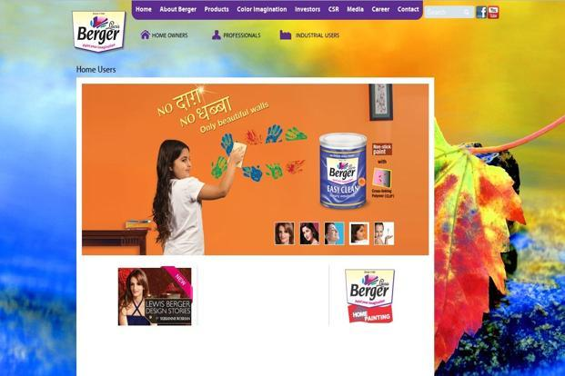 Lower volume growth weighs on Berger Paints - Livemint