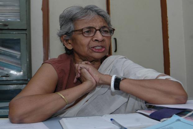 A file photo of Vina Mazumdar. Photo: Hindustan Times (Hindustan Times)