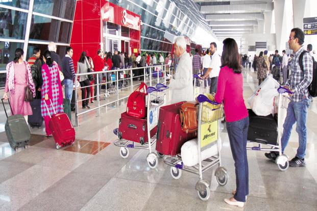 Airlines started paring the free baggage allowed after the aviation ministry in April allowed them to sell several of their services such as preferred seats, baggage and lounges, separately. Photo: Hindustan Times