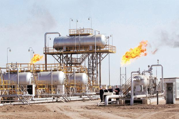 A file photo of an oil refinery in Baghdad. Photo: Essam Al-Sudani/AFP