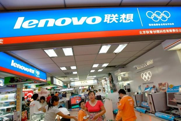 With demand booming for mobile computing gadgets, Lenovo has been aggressively pushing out smartphones and tablet PCs and is now the second largest smartphone maker in its home market in China.   Photo: AFP