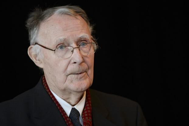 Ingvar Kamprad, 87, who started his business ventures selling matches ...