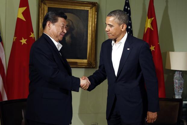 Kết quả hình ảnh cho picture of obama and xi jinping