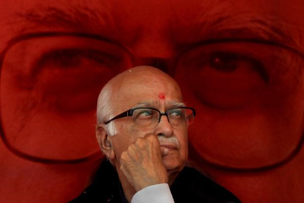 "20 November 2011: Senior BJP leader L. K. Advani during his ""Jan Chetna Yatra at Ramlila maidan in New Delhi. Despite his undoubted stature as one of the opposition's tallest leaders, Advani never made it to the top job of prime minister. HT"