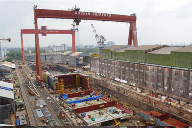 cochin shipyard to sell shares  tax