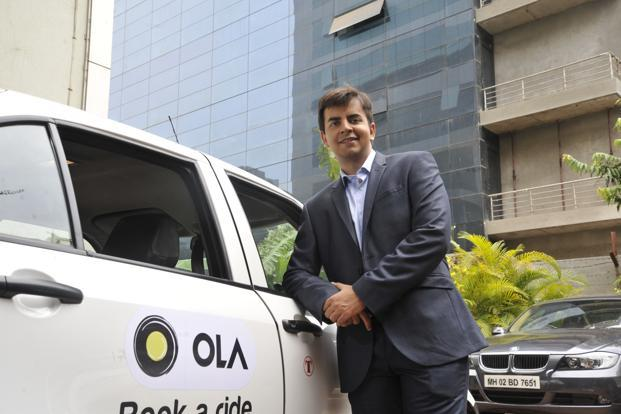 Bhavish Aggarwal, co-founder of Olacabs. Photo: OnlyPix