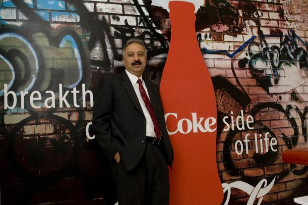 A file photo of Atul Singh, president and CEO of Coca-Cola India. Photo: Mint