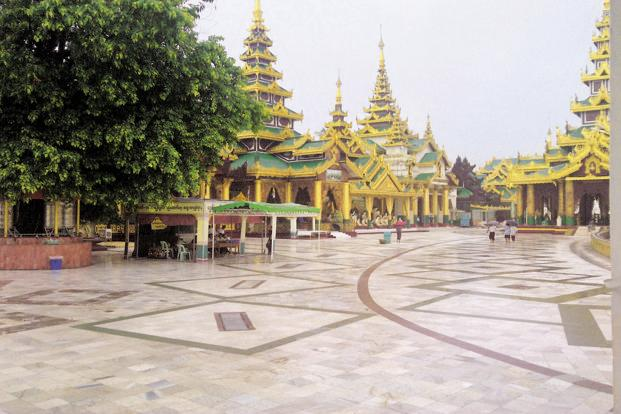 The Shwedagon Pagoda in Yangon, Myanmar. Photographs: Anil Padmanabhan/Mint