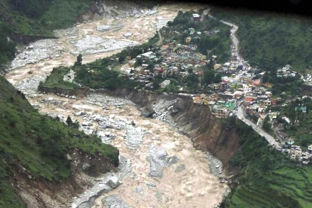 The uttarakhand floods