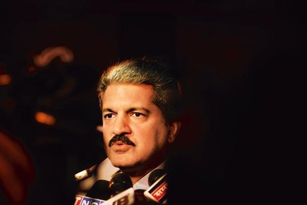 A file photo of Anand Mahindra. Photo: Pradeep Gaur/Mint  (Pradeep Gaur/Mint )