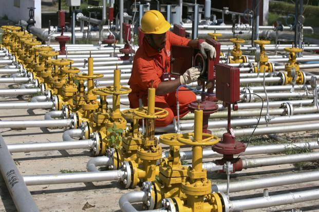 A file photo of an engineer at ONGC's Kalol oil field in Gujarat. The Rovuma Area 1 deepwater block is said to be the largest gas discovery off Africa's east coast with estimated recoverable reserves of 35 to 65 trillion cu. ft. Photo: Reuters (Reuters)