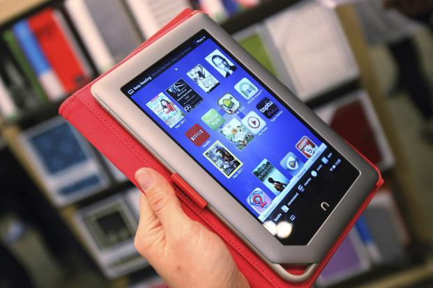 The company expects Nook Media to keep funding itself with the reduction in costs from ceasing tablet production. Photo: Shannon Stapleton/Reuters.