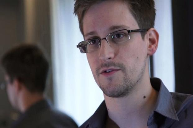 A file photo of Edward Snowden. Photo: AFP