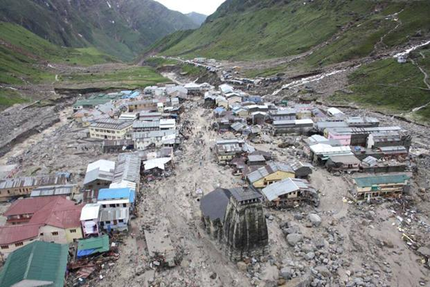 Uttarakhand floods: `195 cr package to rebuild Char Dham ... Uttarakhand Temple Disaster