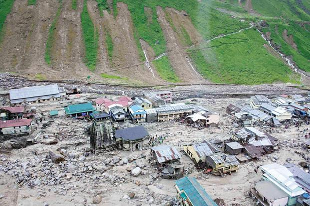 The Kedarnath temple after the flood and landslide. Photo: Reuters (Reuters)