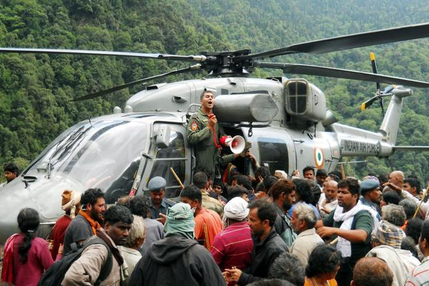 A file photo pilgrims being evacuated from near Kedarnath in Uttarakhand. In the rapidly evolving new India, ethnic roots are increasingly blurred. Photo: AFP