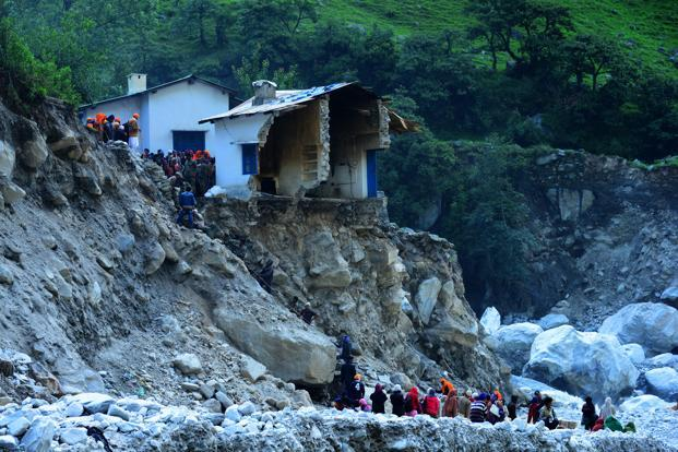 Soldiers rescue people stranded due to floods in Uttarakhand. Although stories of devastation and horror are flowing out of Uttarakhand, we have almost no real information on the exact situation in the upper reaches of the Himalayas. Photo: Ramesh Pathania/Mint
