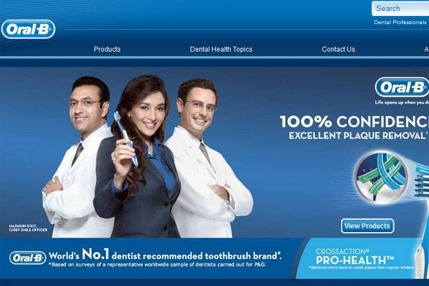 P&G is betting Madhuri Dixit-Nene will help the company replicate the toothbrush market success in the toothpaste market as well.  (P&G is betting Madhuri Dixit-Nene will help the company replicate the toothbrush market success in the toothpaste market as well. )