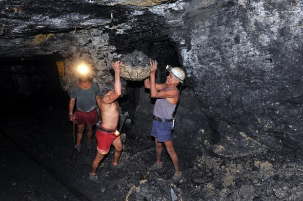 Together with West Bengal-based EMTA Group, DVC formed DVC EMTA Coalmines in 2005 to mine the Barjora (North) and Khagra-Joydev coal blocks in the eastern state.  Photo: AFP
