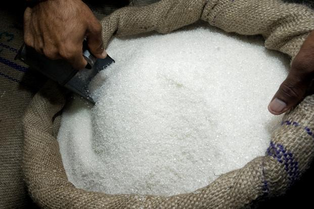 India's wholesale sugar prices are down by 5.7% since the start of 2013, while international raw sugar prices are down by 13.5%. Photo: Bloomberg