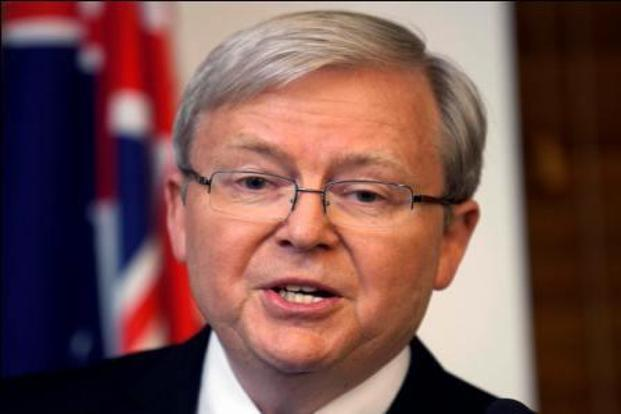 Kevin Rudd's comments came as Australia's jobless rate jumped to 5.7% in June, its highest level in almost four years, as the mining-driven economy begins a tough diversification drive to other sources of growth. Photo: Andrew Taylor/Reuters  (Andrew Taylor/Reuters )