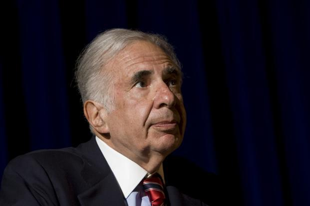 A file photo of Carl Icahn. Photo: Bloomberg News