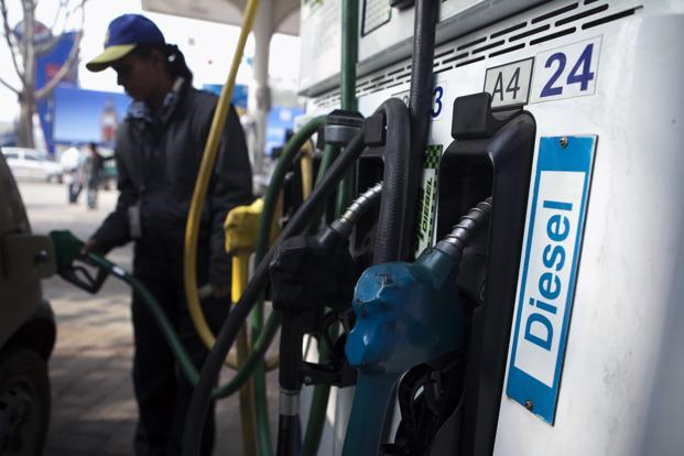 Some of the pleas were also directed against the decisions of the high courts asking the Centre not to implement the decision taken by the ministry of petroleum and natural gas on 17 January, this year to allow the market to regulate the diesel price. Photo: Bloomberg