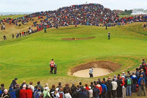 The 140th Open Championship in progress in 2011 at the prestigious Royal St George's golf course in Sandwich, England. Photo: Streeter Lecka/Getty Images