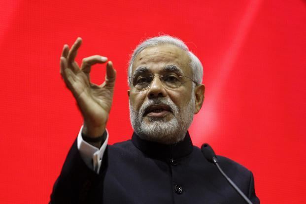 A file photo of Gujarat chief minister Narendra Modi. Photo: Reuters