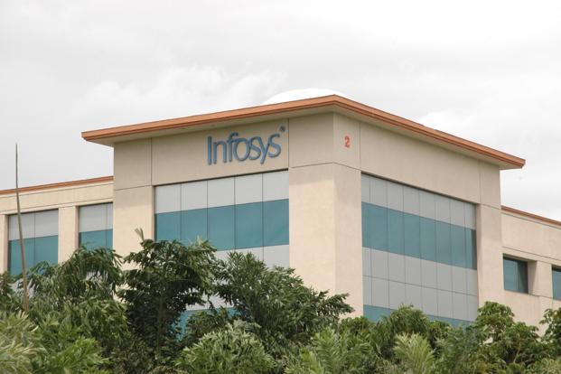 In dollar terms for the April-June quarter, Infosys posted a net profit of $418 million, compared to $416 million last year. Photo: Mint