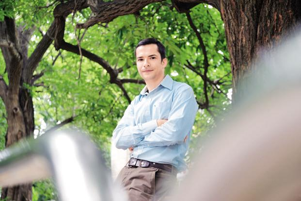Peter Mika, one of the youngest research scientists at Yahoo Inc. Photo: Hemant Mishra/Mint