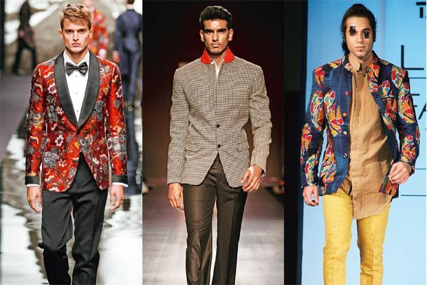 From Left Printed Jacket The Louis Vuitton Ready To Wear Fall Winter