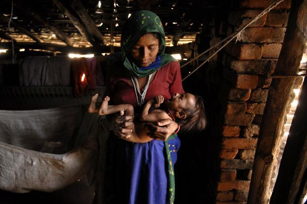 At the end of the day, malnutrition and infant deaths are manifestations of a vicious cycle of poverty. Photo: Abhijit Bhatlekar/Mint  (Abhijit Bhatlekar/Mint )