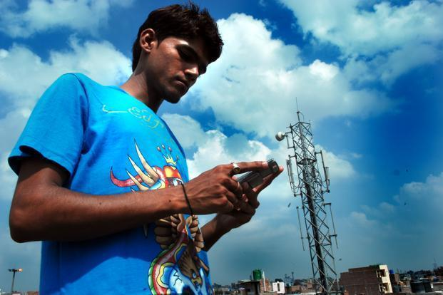Bharti Airtel, Idea Cellular and Vodafone Group have slashed fees for sending data by as much as 90% as mobile social networking and gaming surge. Photo: Pradeep Gaur/Mint