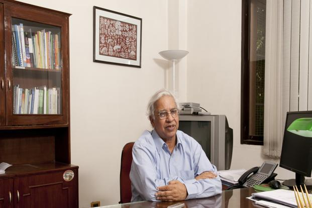 B.K. Chaturvedi, member, Planning Commission. Photo: Ramesh Pathania/Mint (Ramesh Pathania/Mint)