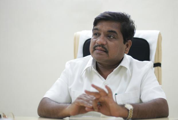 Maharashtra home minister R.R. Patil.