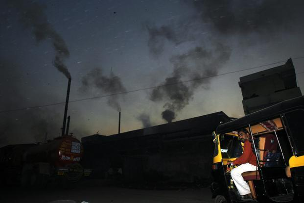 An industrial area in Surat. According to the report, outdoor air pollution accounts for 29%, followed by indoor air pollution (23%), cropland degradation (19%), water supply and sanitation (14%), pasture (11%) and forest degradation (4%). Reuters