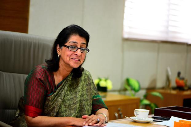 Naina Lal Kidwai, president of the industry lobby Federation of Indian Chambers of Commerce and Industry (Ficci) and the country head of HSBC India.
