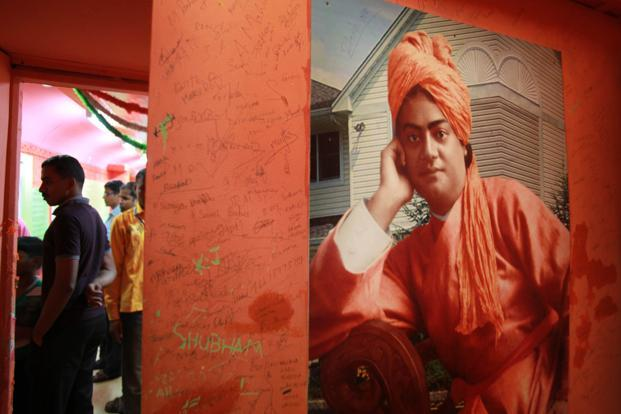 It is our duty to make sure that Vivekananda is not appropriated by any polemicist or politician, or even any religion. Photo: HT (HT)