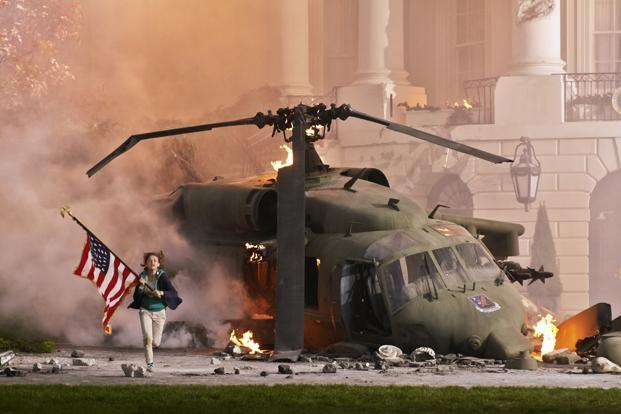 A still from White House Down