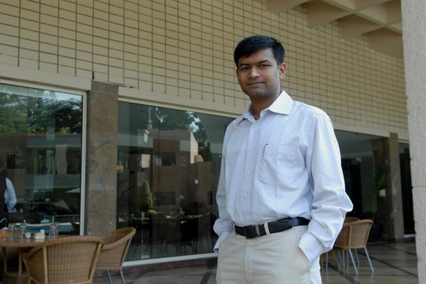 A file photo of redBus founder Phanindra Sama. Photo: Hemant Mishra/Mint (Hemant Mishra/Mint)