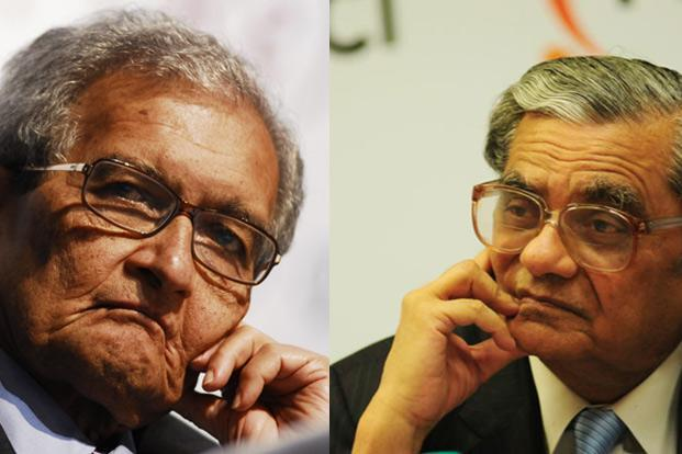 The debate between two of the finest Indian economists—Amartya Sen and Jagdish Bhagwati—reflects the deeper question facing the country's political leaders. Photo: Mint (Mint)
