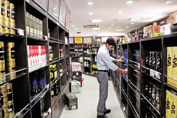 With state governments keen to increase revenue, duty on branded liquor has continued to rise, which will further dent consumer demand and strain margins. Photo: Ramesh Pathania/Mint