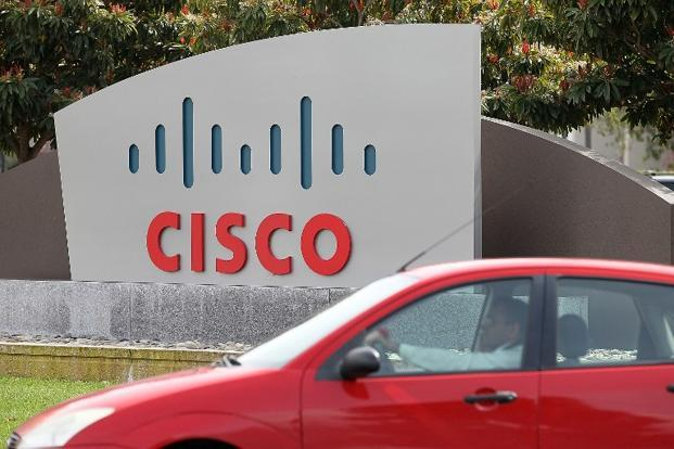 Cisco will pay $76 per share for the company, a premium of 28.6% over its closing price on Monday of $59.08. Photo: AFP