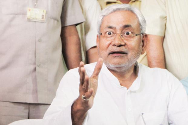 A file photo of Bihar chief minister Nitish Kumar. Photo: HT