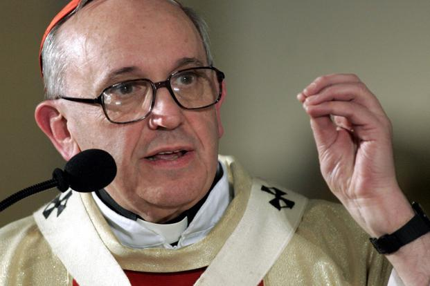 A file photo of Pope Francis. Photo: Reuters