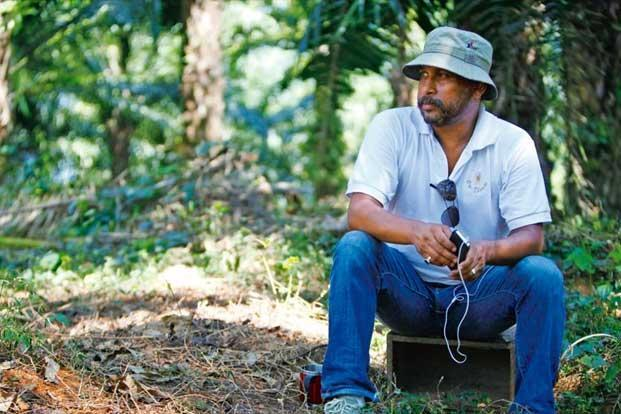 Sircar on the sets of his new film 'Madras Cafe'